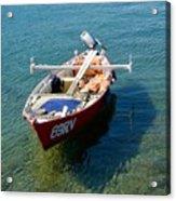 Boat Small Rovinj Croatia Acrylic Print