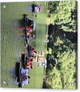 Boat Tours Tam Coc Vietnam  Acrylic Print