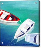 Boat Trio Acrylic Print
