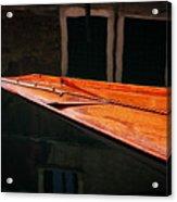 Boat Venice Italy Acrylic Print