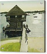 Boathose, Edgartown, Martha's Vineyard Acrylic Print