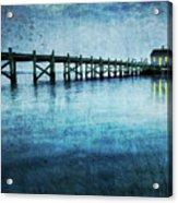 Boathouse Blue Acrylic Print