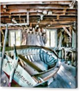 Boathouse Acrylic Print