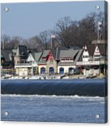 Boathouse Row - Philadelphia Acrylic Print