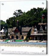 Boathouse Row Philadelphia Acrylic Print
