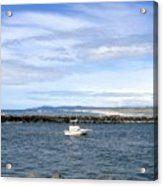 Boating At Bandon Acrylic Print
