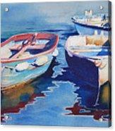 Boats 2 Acrylic Print