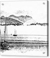 Boats Afloat Acrylic Print