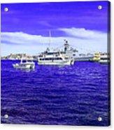 Boats Everywhere 3 Acrylic Print