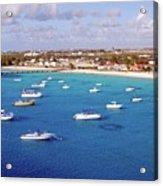 Boats  Grand Turk Acrylic Print