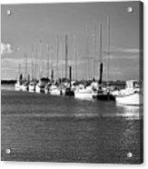Boats On The Estuary Acrylic Print
