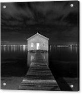 Boatshed Acrylic Print