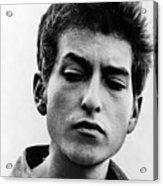 Bob Dylan B. 1941 Informal Portrait Acrylic Print by Everett