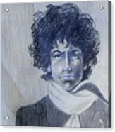 Bob Dylan In The Rock Years Acrylic Print