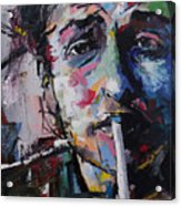 Bob Dylan Acrylic Print
