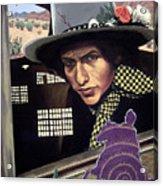 Bob Dylan Surreal Desert Acrylic Print