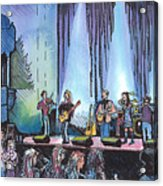 Bob Dylan Tribute Show Acrylic Print