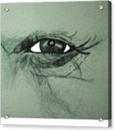 Bob Dylans Eye  Undestanding His Soul Acrylic Print