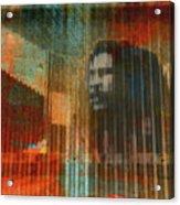 Bob Marley Abstract II Acrylic Print