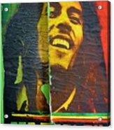 Bob Marley Door At Pickles Usvi Acrylic Print