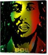 Bob Marley Print Acrylic Print