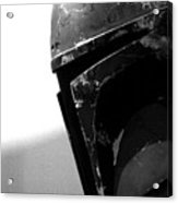 Boba Fett Helmet Acrylic Print