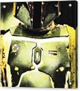 Boba Fett Acrylic Print by Micah May