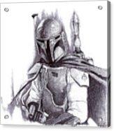 Boba Fett - Star Wars Acrylic Print