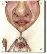 Bobblehead No 33 Acrylic Print
