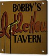 Bobby's Idle Hour Acrylic Print