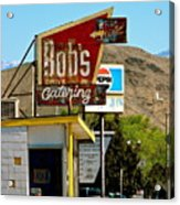Bobs Caterting Acrylic Print