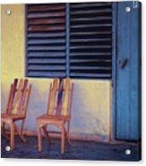 Boca De Yumuri Porch Acrylic Print