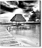 Bocas Del Drago Clouds In Panama Acrylic Print