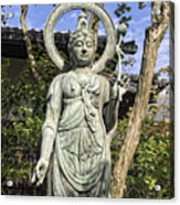 Boddhisattva Buddhist Deity - Kyoto Japan Acrylic Print