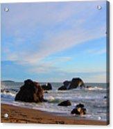 Bodega Bay Sunset Acrylic Print