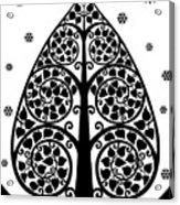 Bodhi Tree_v-7 Acrylic Print