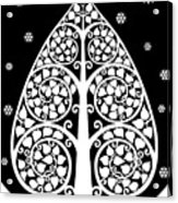 Bodhi Tree_v-8 Acrylic Print