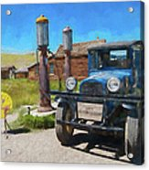 Bodie California Ghost Town Old Vintage Dodge Truck Ap Acrylic Print
