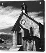 Bodie Church 1977 Acrylic Print