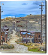 Bodie Ghost Town Acrylic Print