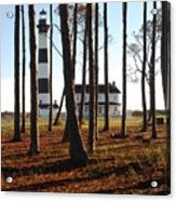 Bodie Island Light Through The Pines Acrylic Print