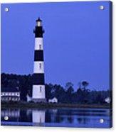 Bodie Island Lighthouse At Dusk - Fs000607 Acrylic Print