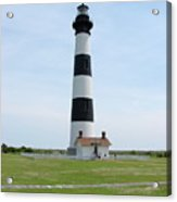 Bodie Lighthouse Nags Head Nc II Acrylic Print