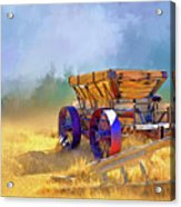 Bodie Ore Wagon Painted Acrylic Print