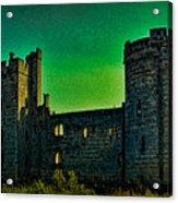 Bodium Castle Panorama Acrylic Print