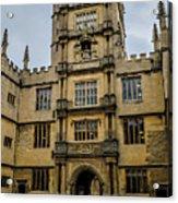 Bodleian Library Main Gate Acrylic Print