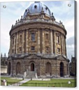 Bodlien Library Radcliffe Camera Acrylic Print by Jane Rix