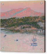 Bodrum.pink Sunrise Acrylic Print