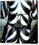 Body Stripes Acrylic Print