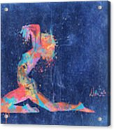 Bodyscape In D Minor - Music Of The Body Acrylic Print
